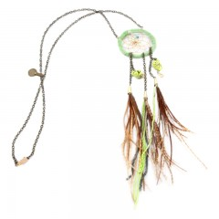 Live American Free Ravin Dream Catcher Necklace