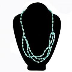 Live Ugandan Teal Esther Necklace