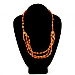 Live Ugandan Coral Esther Necklace