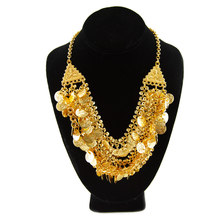 Live Indian Gold Coin Necklace