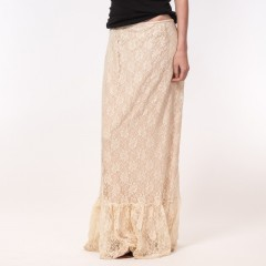 Live American Madison Skirt in Ivory