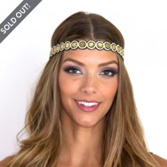 Live Indian Deepa GoldHead Piece