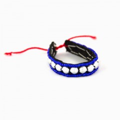 Live Thai Peace and Balance Bracelet Blue