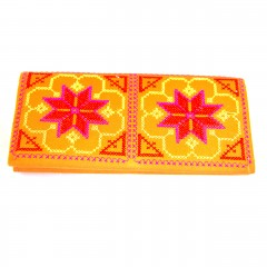 Live Thai Lotus Wallet Orange