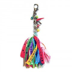 Live Brazilian Key Chain with Luck Charms
