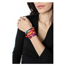 Live Indian Love In India Multi-Colored Thick Cuff